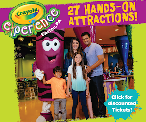 I'm excited to partner with Crayola Experience! Click for Discounted Affiliate Tickets!