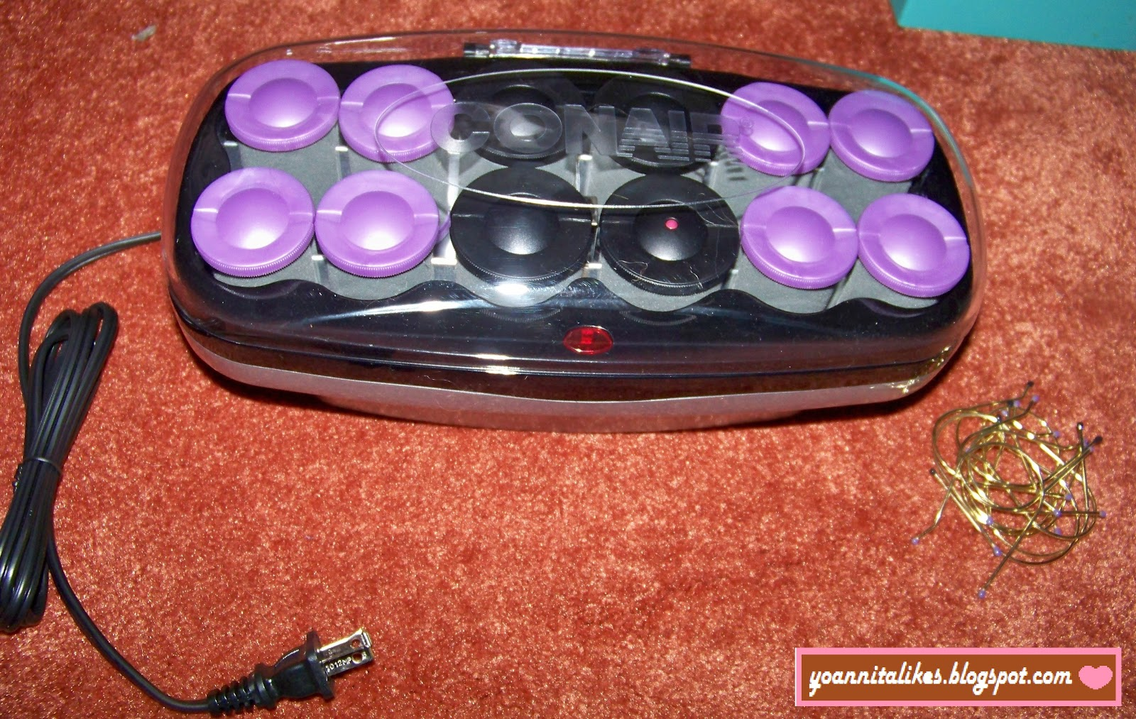 how to use conair hot rollers with clips