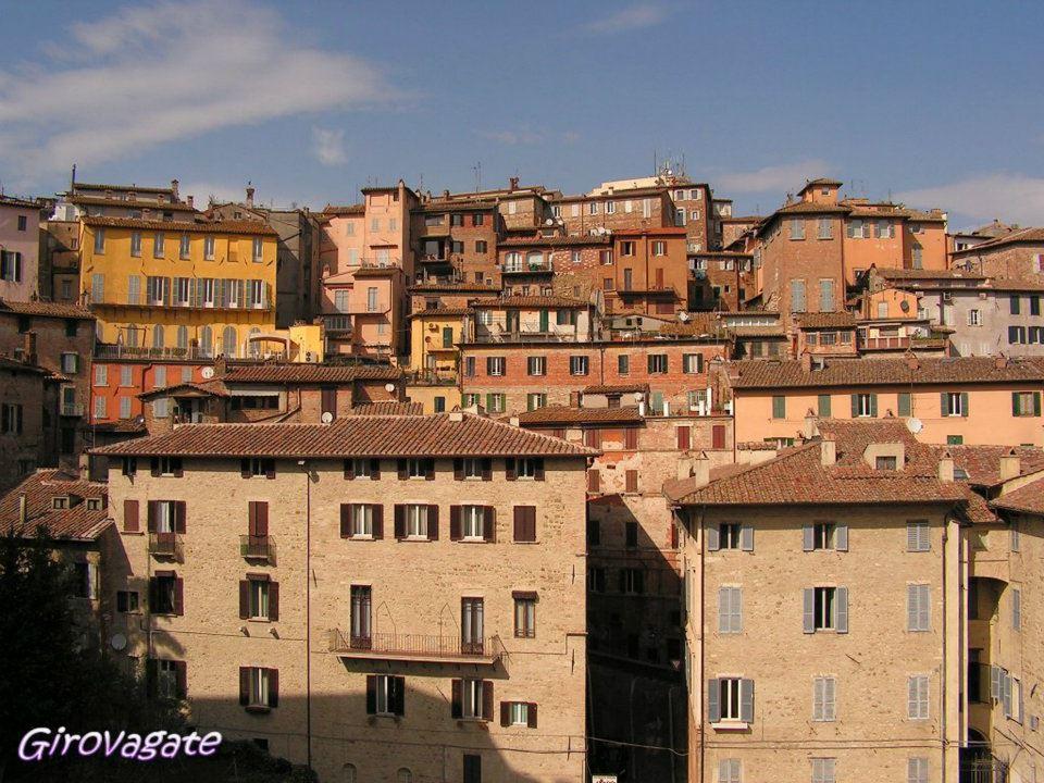 Perugia panorama Palazzo Capitano Popolo