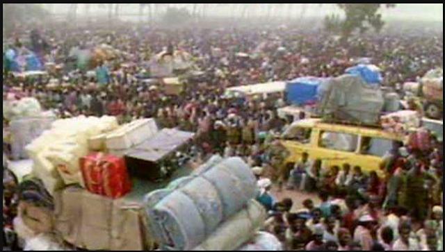Illegal Immigrants leaving Nigeria