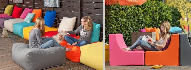 sitzkissen und Polster Gartenmöbel