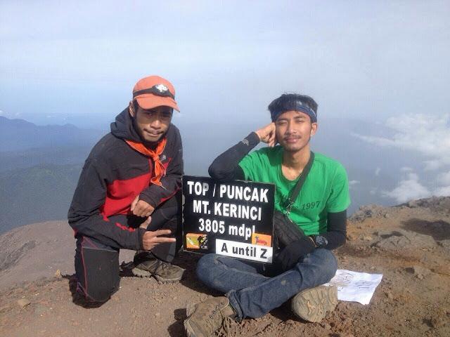 Backpacker Menggila Menuju Pendakian Gunung Kerinci