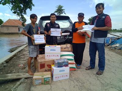 ACT Serahkan Bantuan Logistik Korban Banjir Menggala