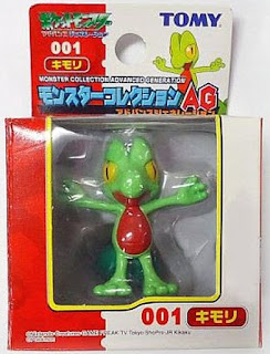 Treecko Pokemon figure Tomy Monster Collection AG series