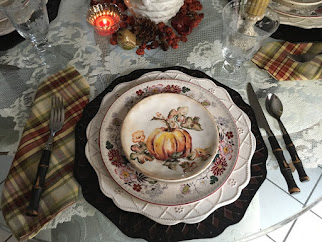 Vintage Farmhouse October Dining