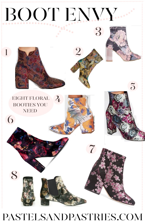 8 Floral boots you need for Fall