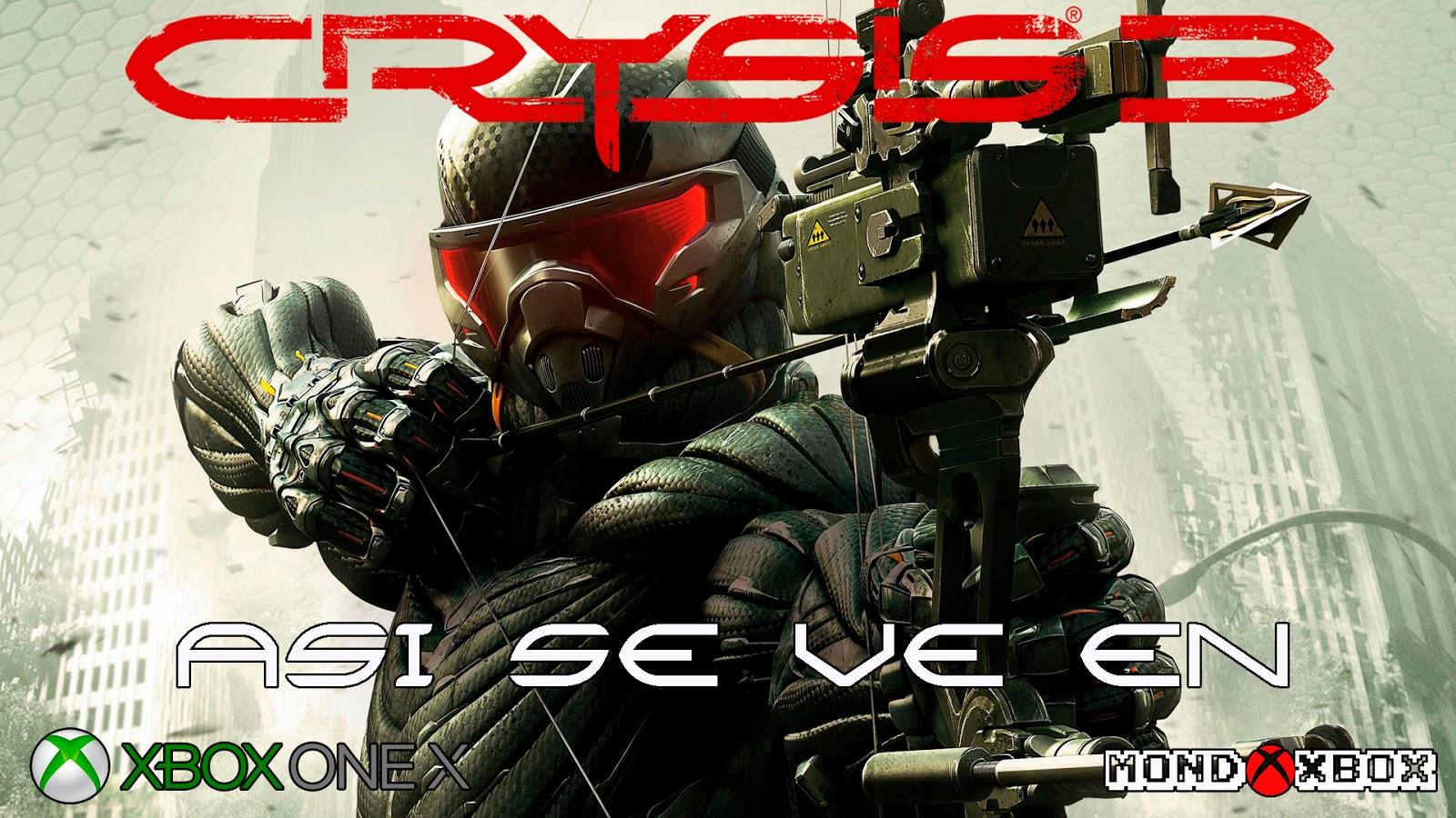 Mondoxbox Asi Se Ve Crysis 3 En Xbox One X No Mejorado