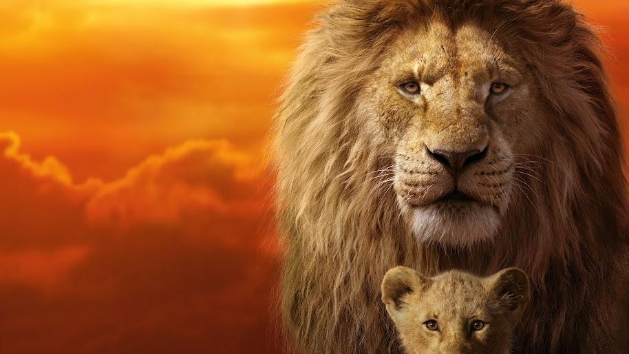 The Lion King 2019 Mufasa Simba 8k Wallpaper 12