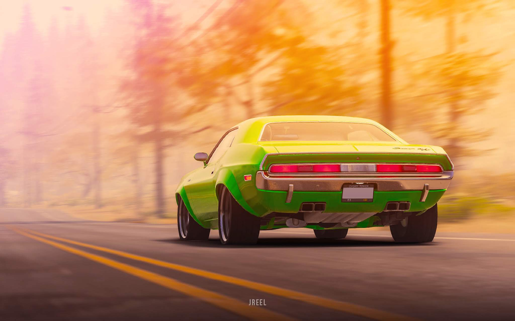 1970 dodge challenger rt from the crew 2 rear 3l