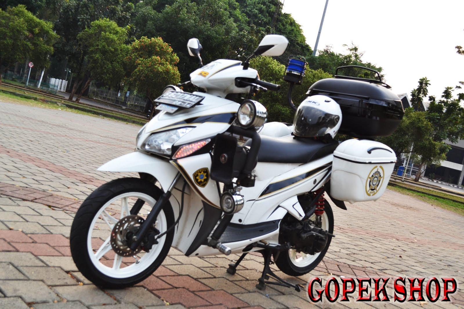 Modifikasi Honda Vario Touring Lampak Modifikasi