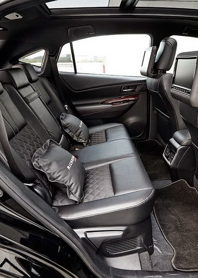 Interior Toyota Harrier Terbaru