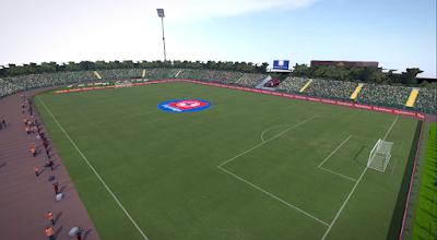 PES 2017 Stadium Zemun by Sini88