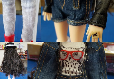 details clothes project MC2 McKayla doll