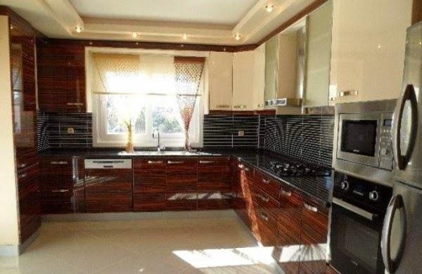 mutfak alçıpan asma tavan modelleri