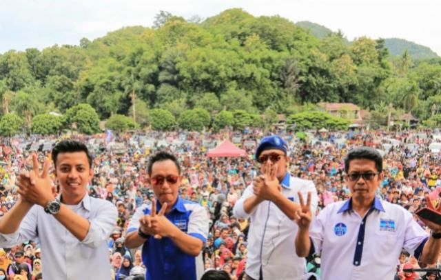 Tim dan Relawan Makin Padu Sosialisasikan IYL-Cakka di Enrekang
