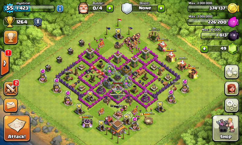 Clash Of Clans (Another Favourite Game)