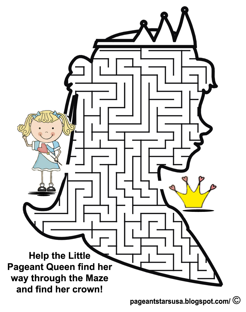 Pageant Stars USA: Pageant Fun Page
