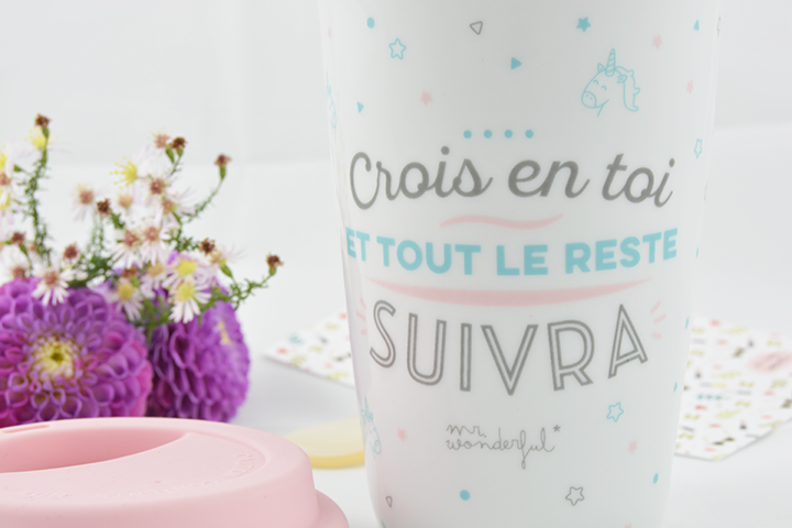 mug message Mr Wonderful concours