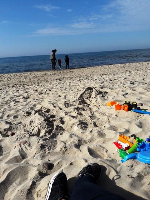 relaks na plaży