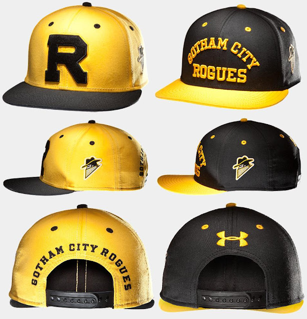 The Dark Knight Rises x Under Armour Gotham Rogues Collection - Snapback Adjustable Hats