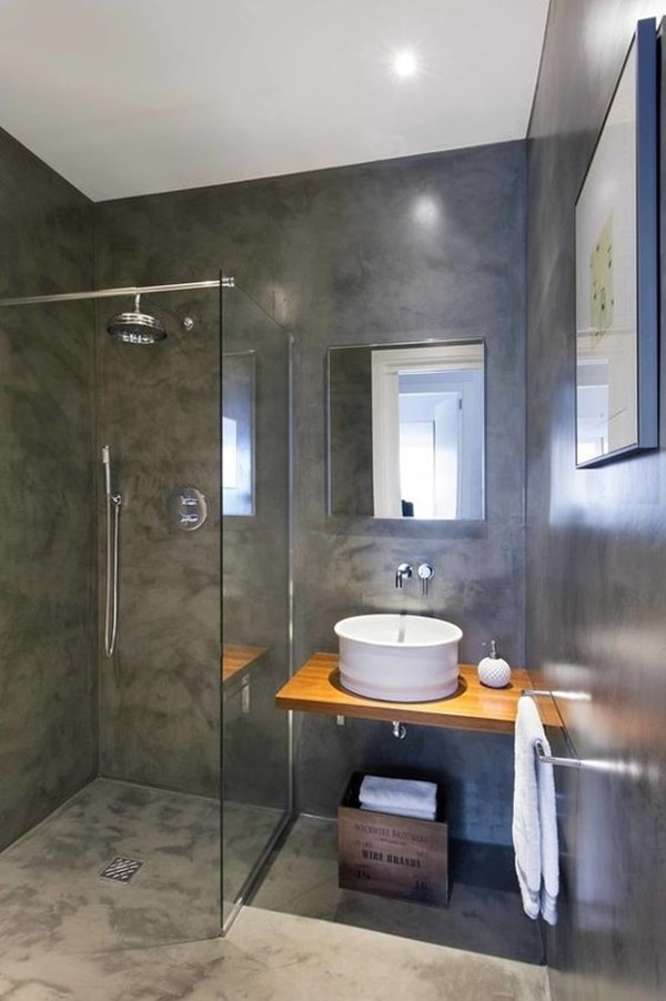 Solutions To Decorate Small Bathrooms 5