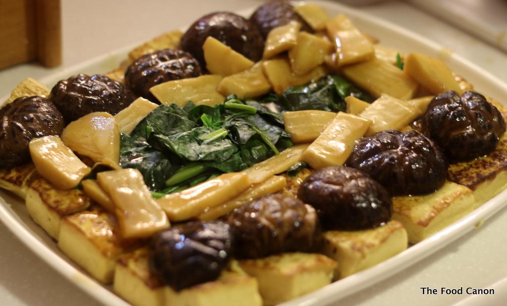 Braised Abalone, Mushroom, Sea Cucumber & Bamboo in ...