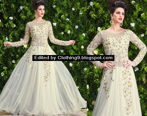 New Party Wear Lehenga Frocks Collection 2016 2017