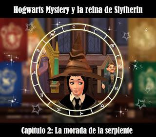Hogwarts Mystery fotonovela casas