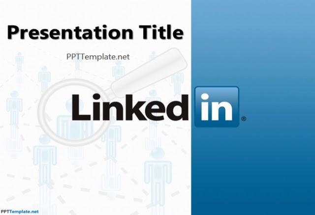 LinkedIn PowerPoint Template