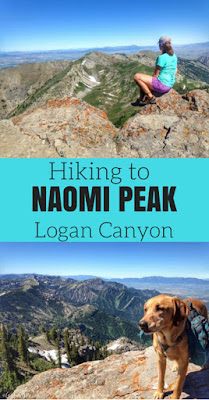 Hiking to Naomi Peak, Logan Canyon, Utah
