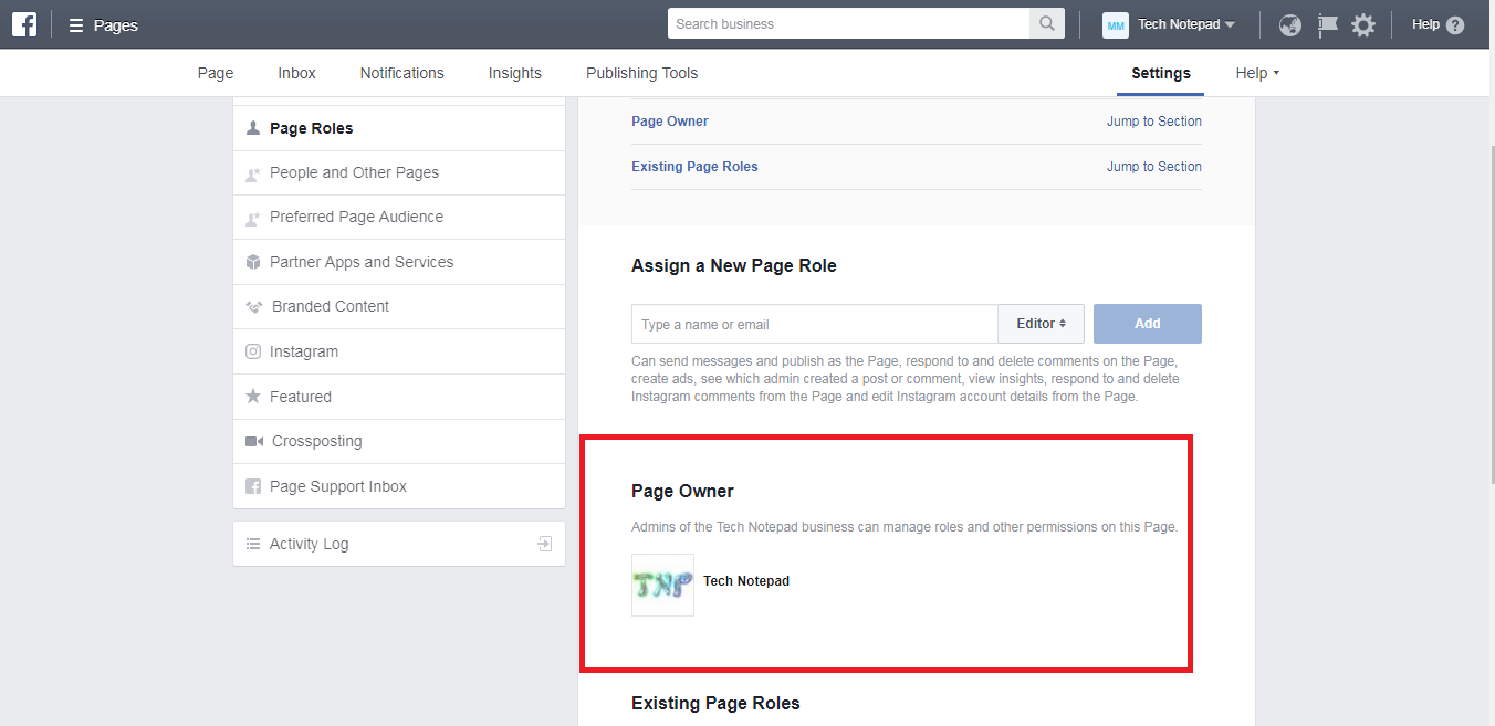 how to add admins to a fb page