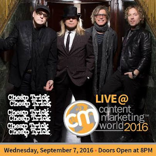 Cheap Trick - Content Marketing World