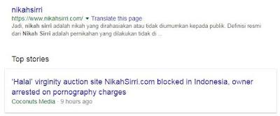 nikahsirri.com sudah diblokir.