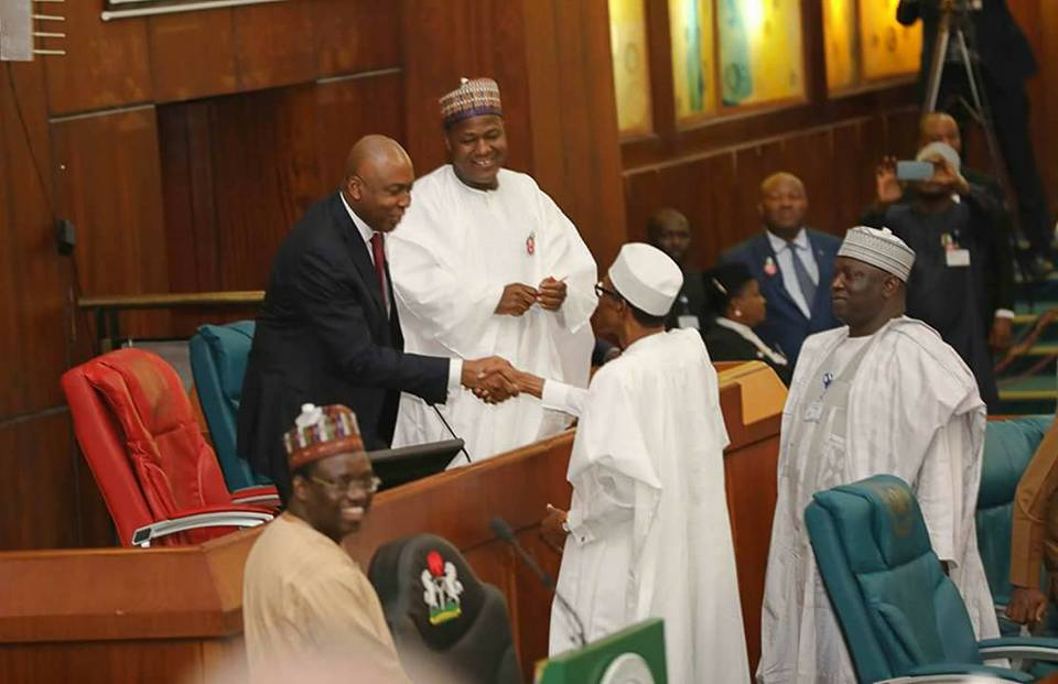 President Buhari Presents N7.298trn 2017 Budget To National Assembly