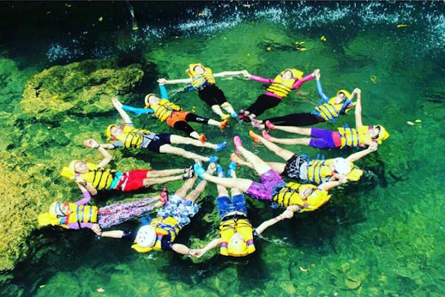 body rafting green canyok