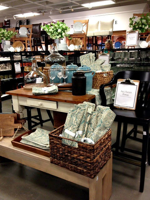 pottery barn outlet online