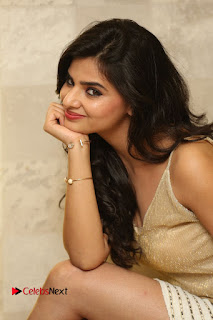 Actress Kamana Ranawat  Pictures in Short Dress at Selfie Raja Movie Success Meet  0240.JPG