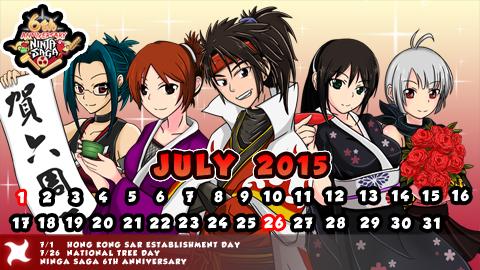 Bocoran Sedikit Tentang event Ninja saga tahun 2015