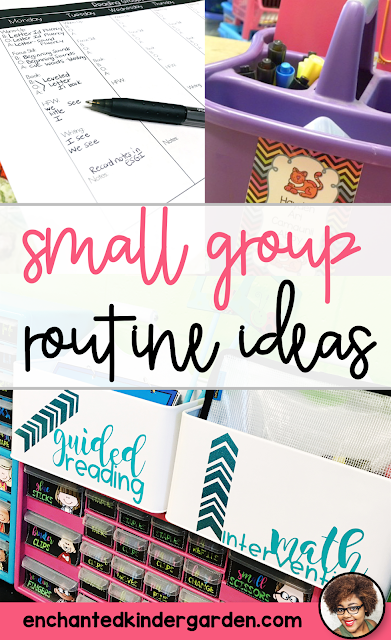 Teaching reading small group can be such a headache if you're not sure what to do. Here's how I plan my entire reading small group with 4 simple steps.