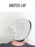 The easiest knit cap you ever did see!