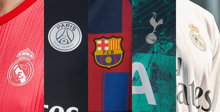 a01eeb128 ... these latest changes from the Premier League, La Liga, Bundesliga,  Ligue 1 and Serie A. Special-edition kits and 2019 training wear is also  included, ...