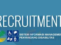 Rekrutmen Pendamping Penyandang Disabilitas Kemensos RI (September 2018)