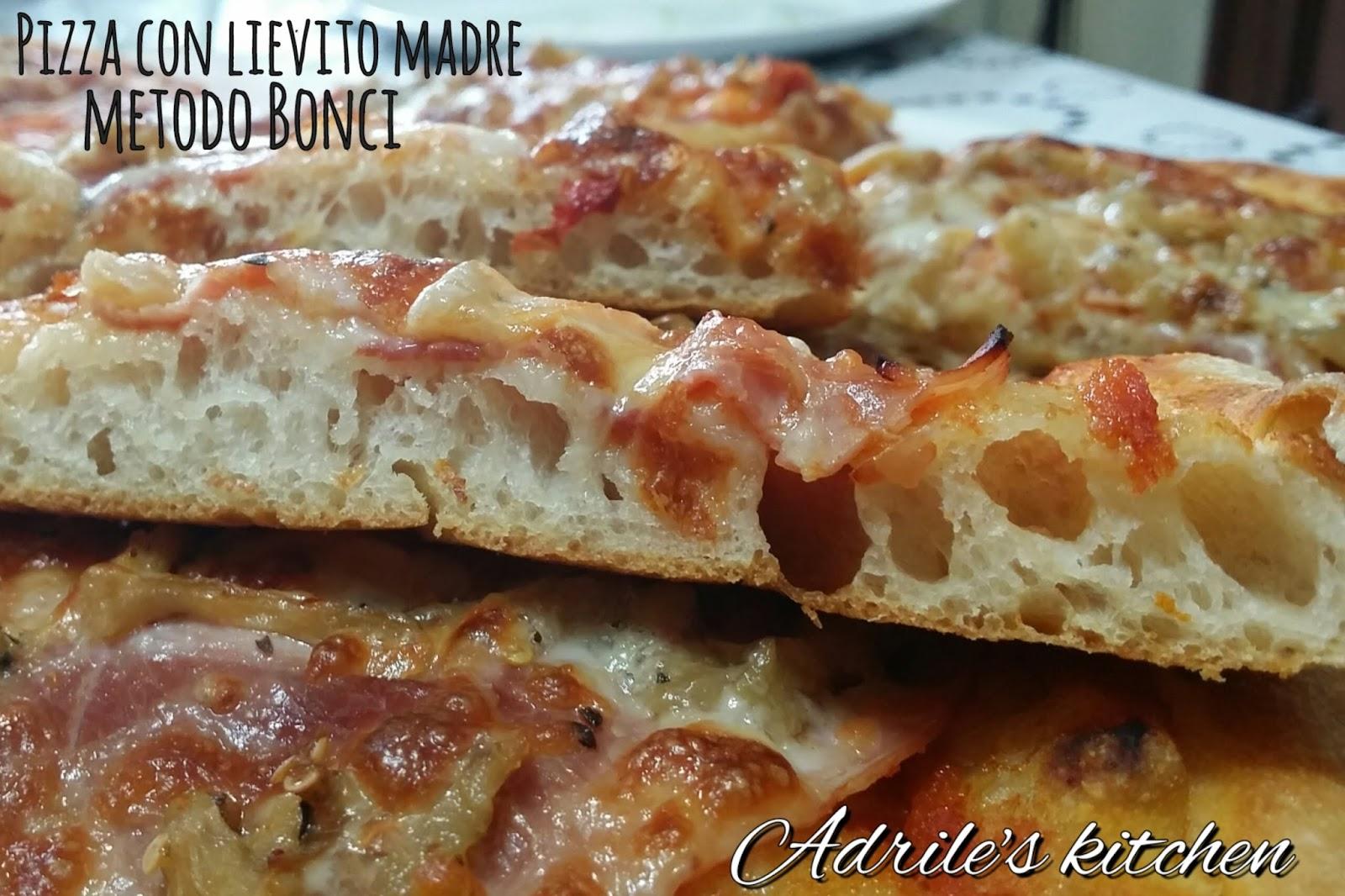 Ricette Lievito Madre Bonci.Pizza Con Lievito Madre Con Metodo Bonci