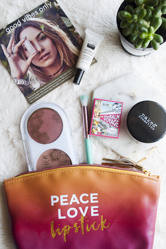 August 2017 ipsy Glambag: Good Vibes Only