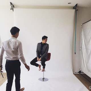 Alaric Ong at a Photoshoot