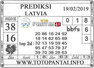 """Prediksi Togel """"LATVIA"""" PANTAI4D 19 FEBRUARI 2019"""