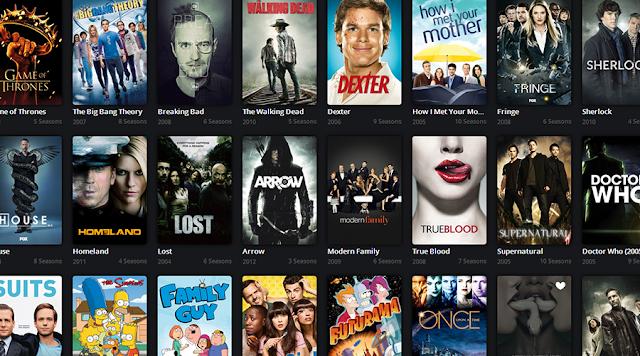 Algunas de las muchas series que se han emitido en los últimos años