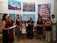 Edith Merle, izložba slika u Postira otok Brač slike