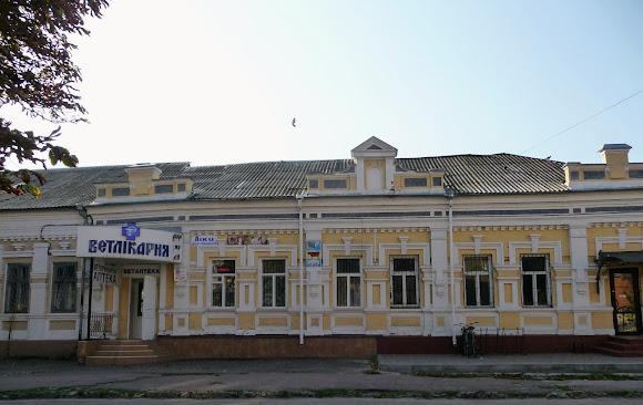 Нежин. Коммерческое здание по ул. Покровской. 1913 г.