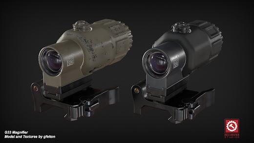 Arma3用現代軍MODのG33 Magnifier
